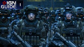 Call of Duty Advanced Warfare Walkthrough - Story Mission 01 Induction