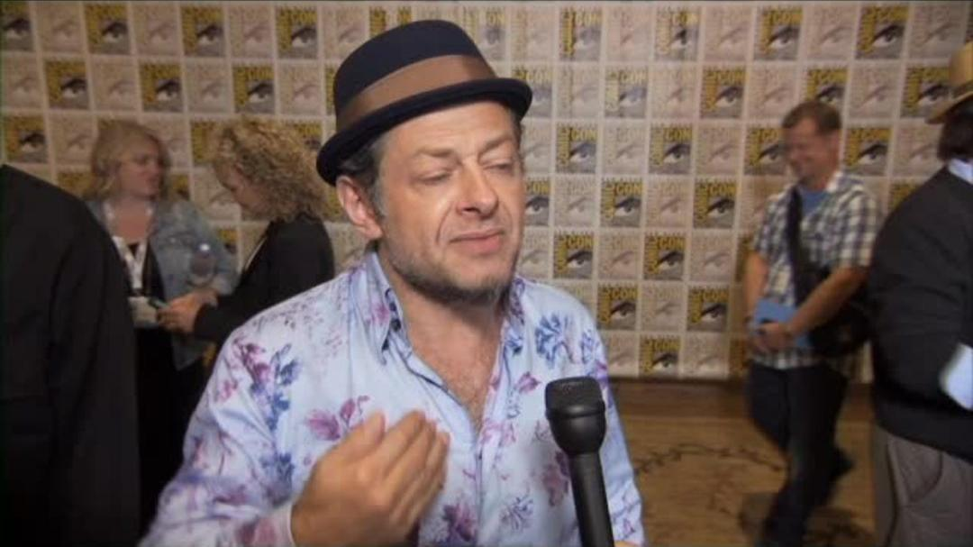 Dawn Of The Planet Of The Apes - Andy Serkis - Comic-Con 2013