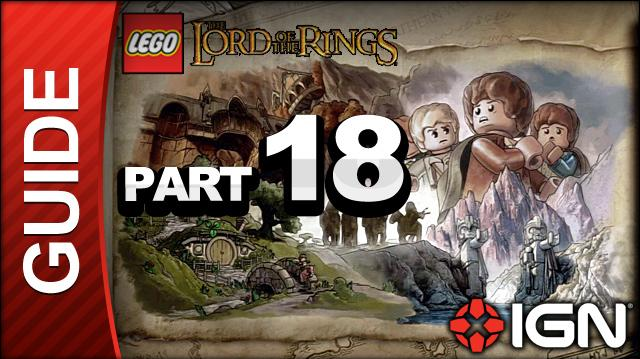 LEGO The Lord of the Rings Walkthrough Part 18 - Mount Doom