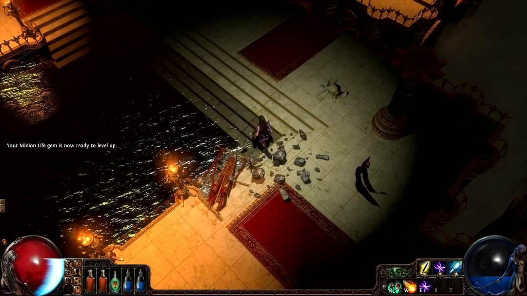 Path of Exile Witch vs Solaris Clip