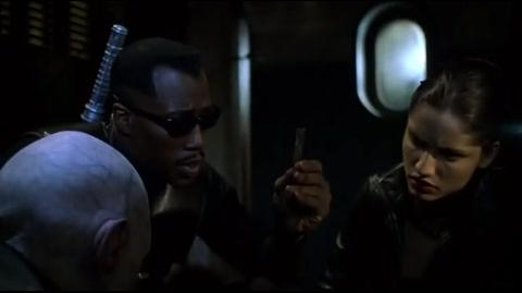 Blade II - the caught reaper dying