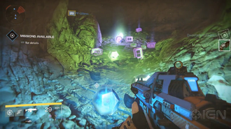 Destiny - Haunted Loot Cave Easter Egg