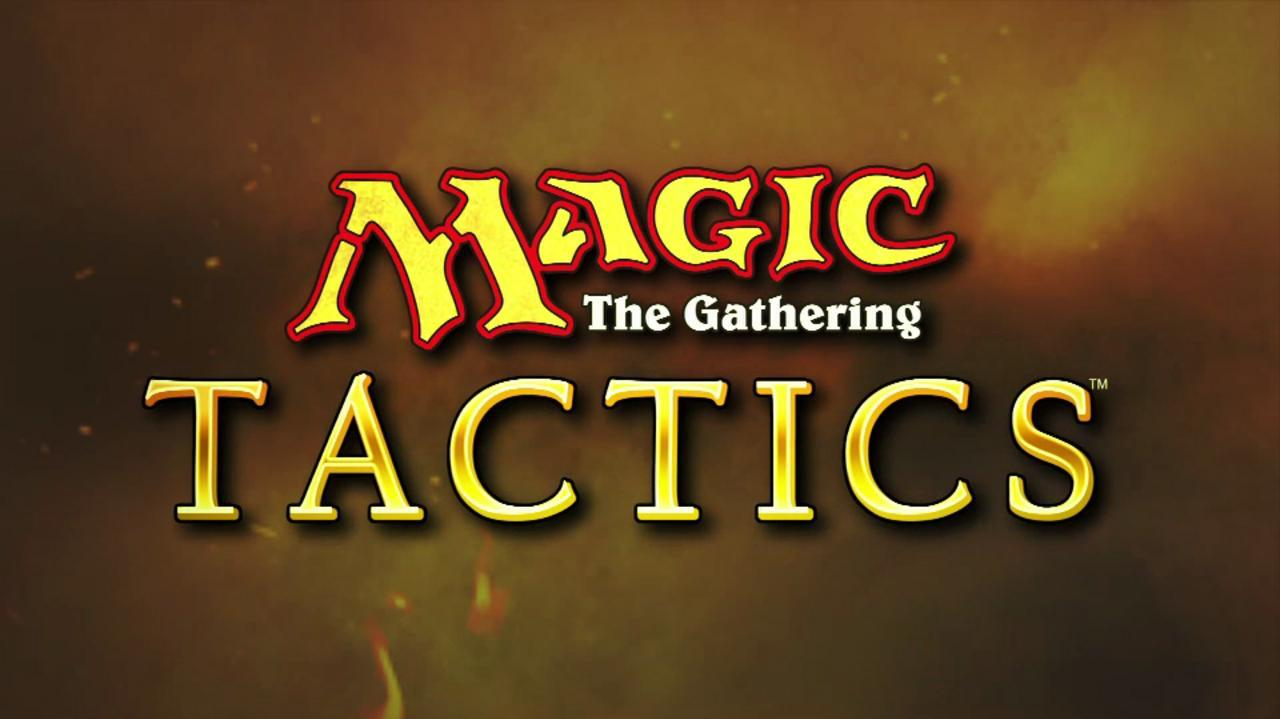 Magic the Gathering Tactics Magic Trailer