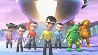 The Wiggles Space Dancing