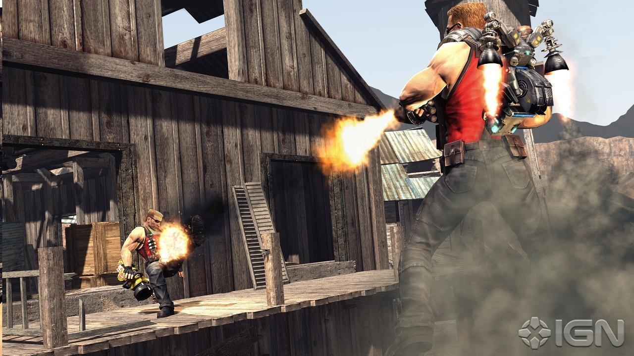 E3 2011 Duke Nukem Forever Gameplay Commentary