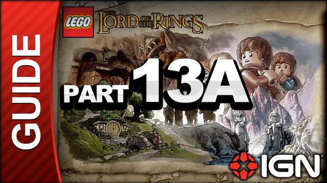 LEGO The Lord of the Rings Walkthrough Part 13A - The Secret Stairs