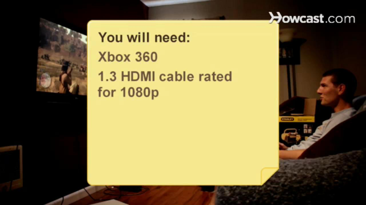 Howcast How to Connect Your Xbox 360 Via HDMI
