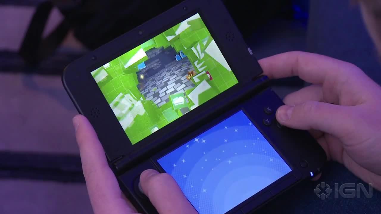 Mario & Luigi Dream Team - Battle Gameplay