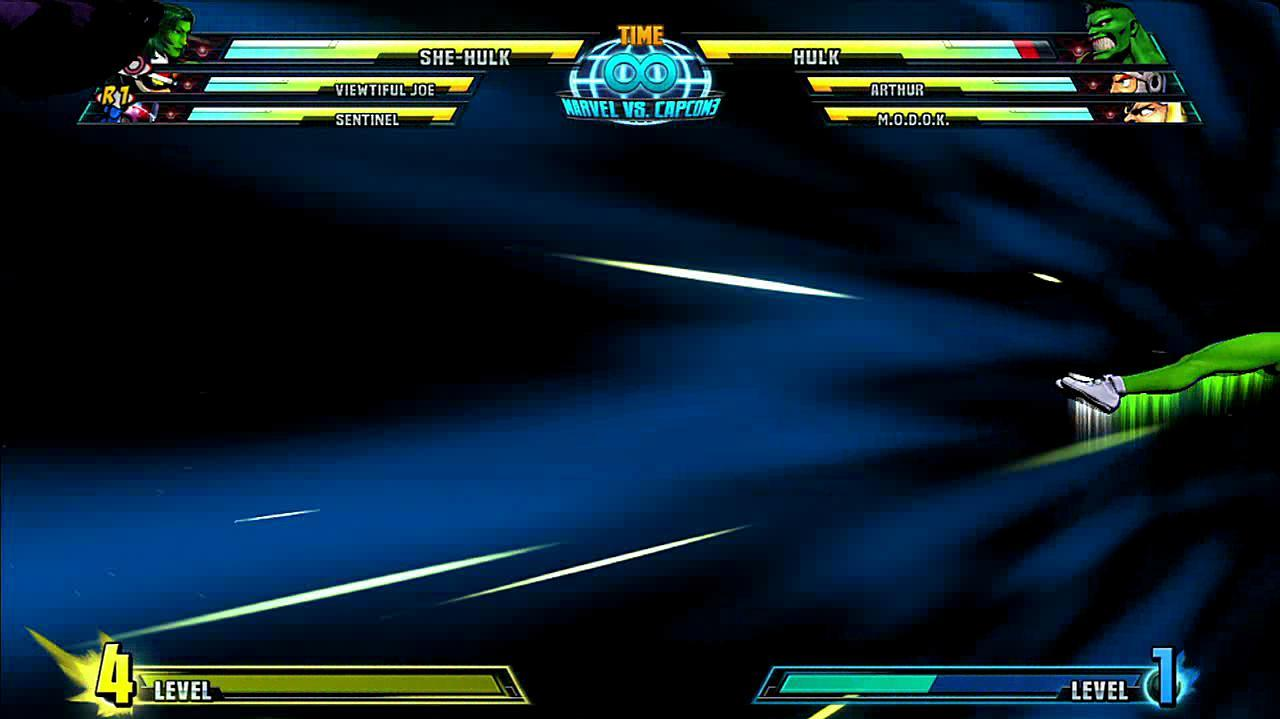 Marvel vs. Capcom 3 She-Hulk Gameplay