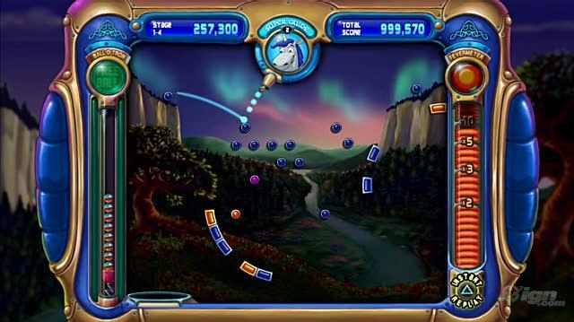 Peggle PlayStation 3 Gameplay - Bjorn Unicorn