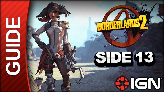 Borderlands 2 Captain Scarlett and Her Pirate's Booty DLC Walkthrough - Message in a Bottle Rust Yards - Side Mission (Part 13)