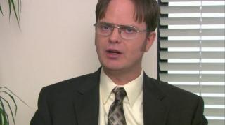 OFFICE DWIGHT ROUNDING UP BUSINESS FOR THE FAMILY PORTRAIT STUDIO, THE