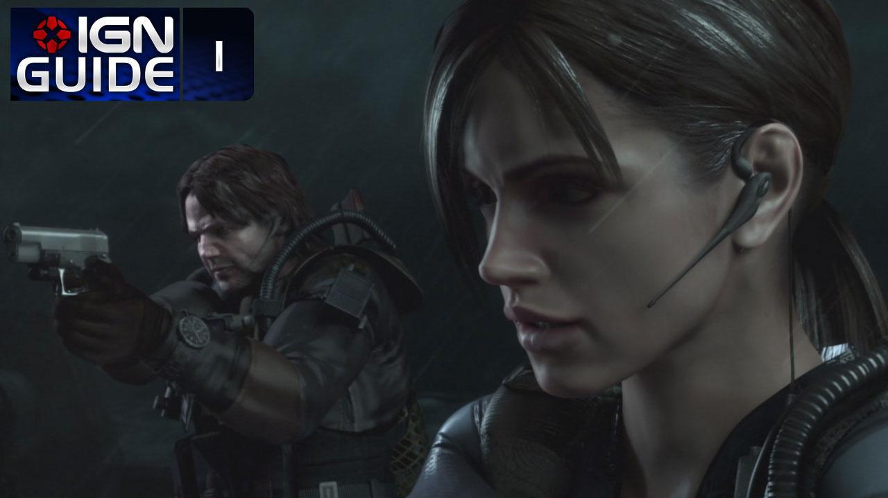 Resident Evil Revelations Walkthrough - Episode 1-1 (Part 1)