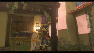 Zelda Breath of the Wild - Ravio's Hood Location (EX Treasure Merchant Hood)