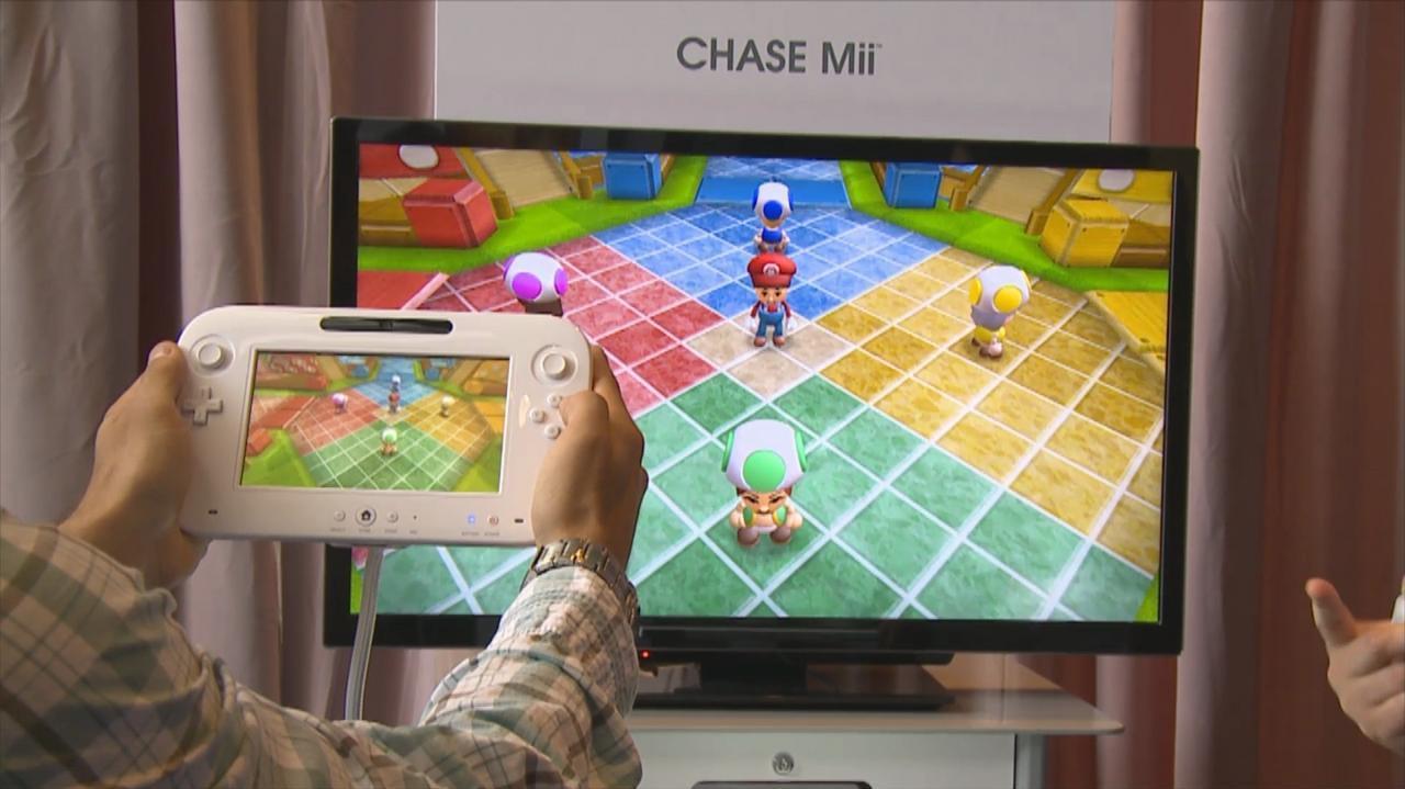 E3 2011 Wii U Chase Mii Offscreen Demo Part 1