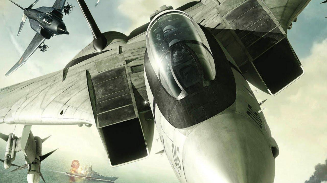 Ace Combat Infinity Base Attack Gameplay - TGS 2013