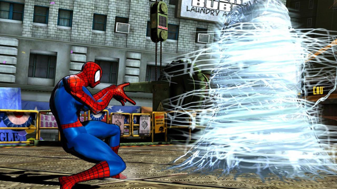 Marvel vs. Capcom 3 Spider-Man Gameplay Footage