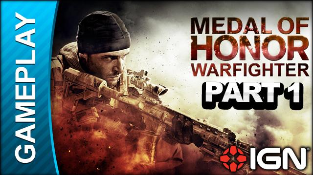 Medal of Honor Warfighter - Beta Multiplayer Match Part 1 - Gameplay