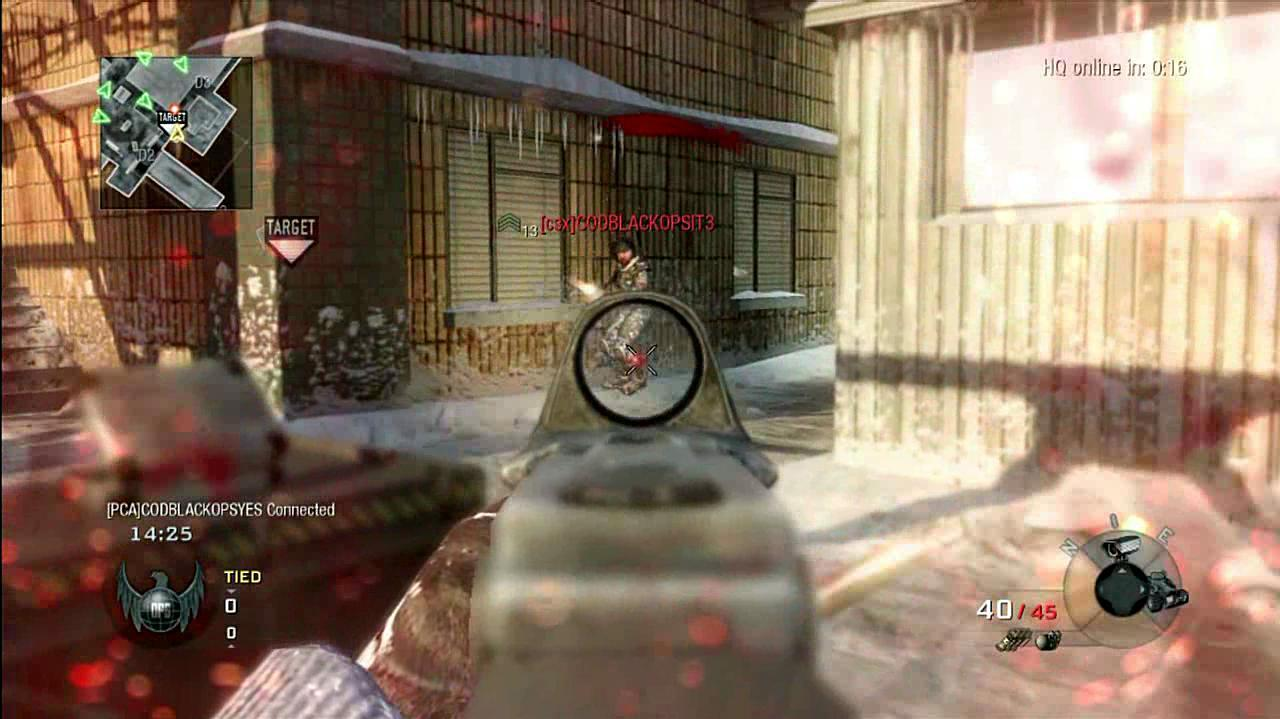 Call of Duty Black Ops RC Car Multiplayer Gameplay
