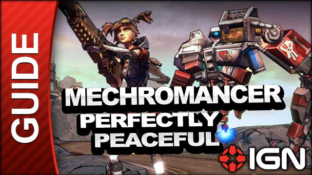Borderlands 2 Mechromancer Walkthrough - Perfectly Peaceful - Side Mission