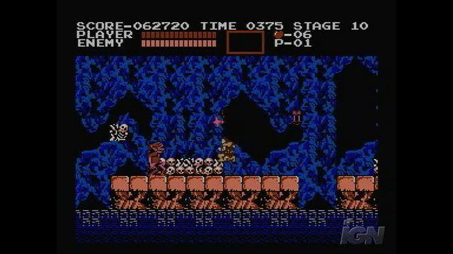Castlevania Retro Game Gameplay - Underground