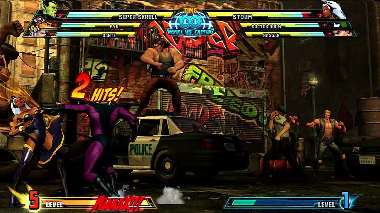 Marvel vs. Capcom 3 Super Skrull Gameplay