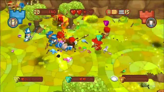 Fat Princess PS3 - E3 2010 Trailer
