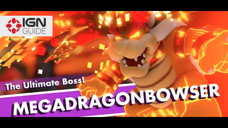 Mario + Rabbids Kingdom Battle Walkthrough World 4 Boss - Megadragonbowser