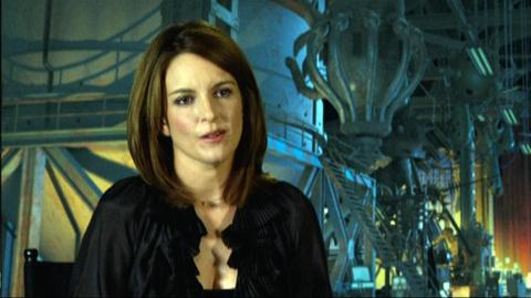 "Megamind (2010) - Interview ""Tina Fey On Her First Reaction To Seeing Her Character Roxanne Ritchi"""