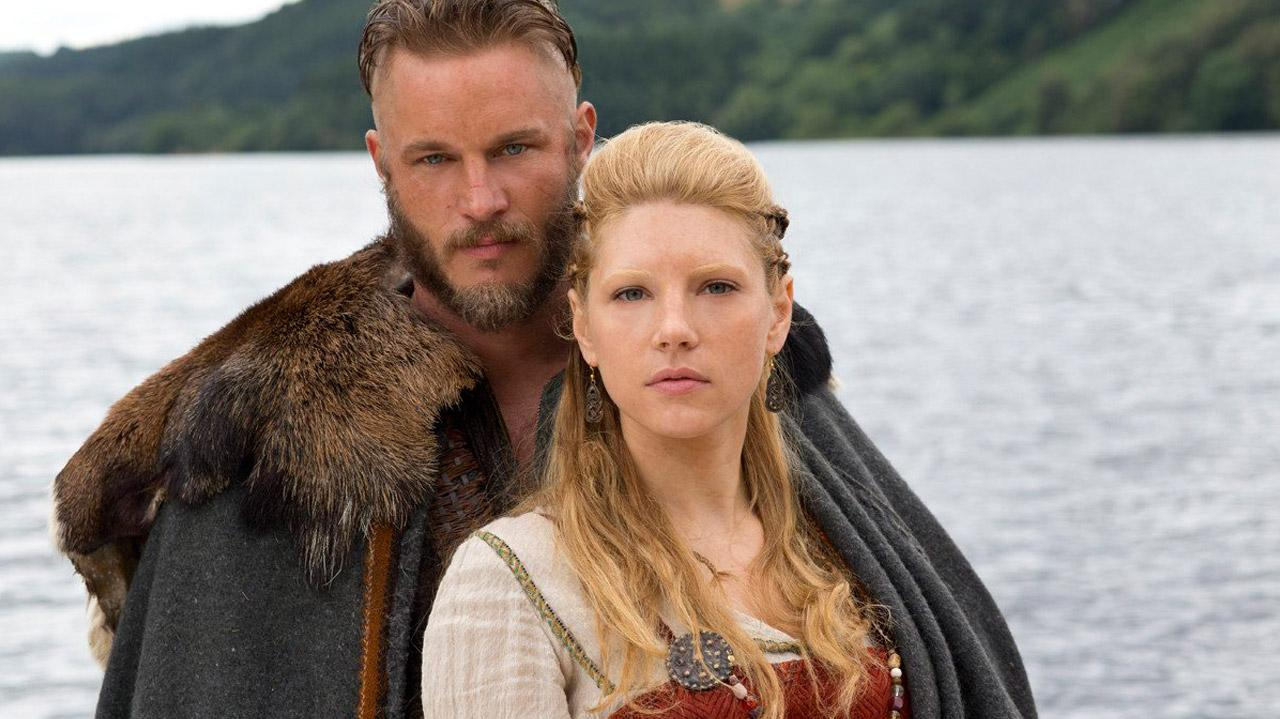 Vikings Travis Fimell and Katheryn Winnick Interview - Comic-Con 2013