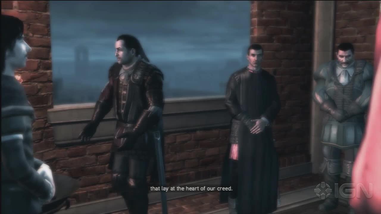 Assassins Creed 2 - Becomming An Assassin - Gameplay