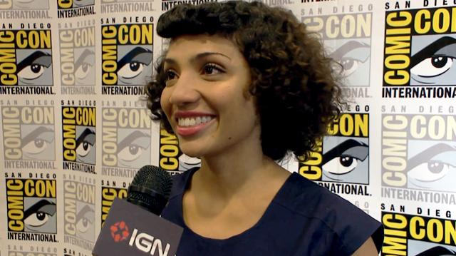 Fringe - Jasika Nicole Interview - Comic-Con 2012