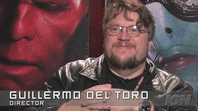 Hellboy II The Golden Army Movie Interview - NYCC 08 Guillermo del Toro