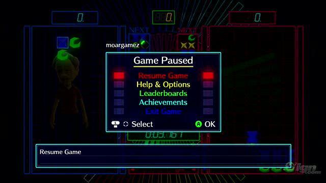 0-D Beat Drop Xbox Live Gameplay - Custom Soundtrack