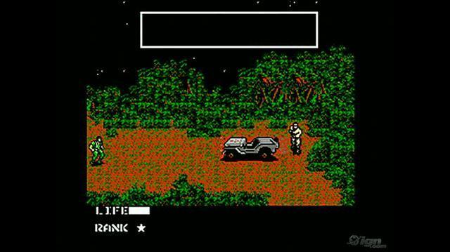 Metal Gear Retro Game Gameplay - Gameplay