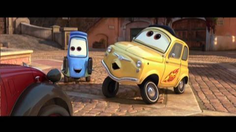 Cars 2 (2011) - TV Spot Wunderbar 15