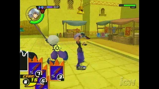 Kingdom Hearts RE Chain of Memories PlayStation 2 Gameplay