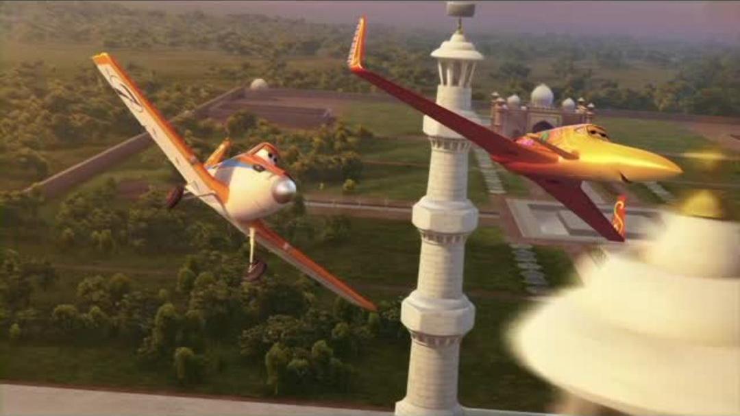 Planes - Dusty Flies To The Taj Mahal Clip