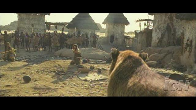 10,000 BC Movie Feature-Behind-the-Scenes - Visual Effects