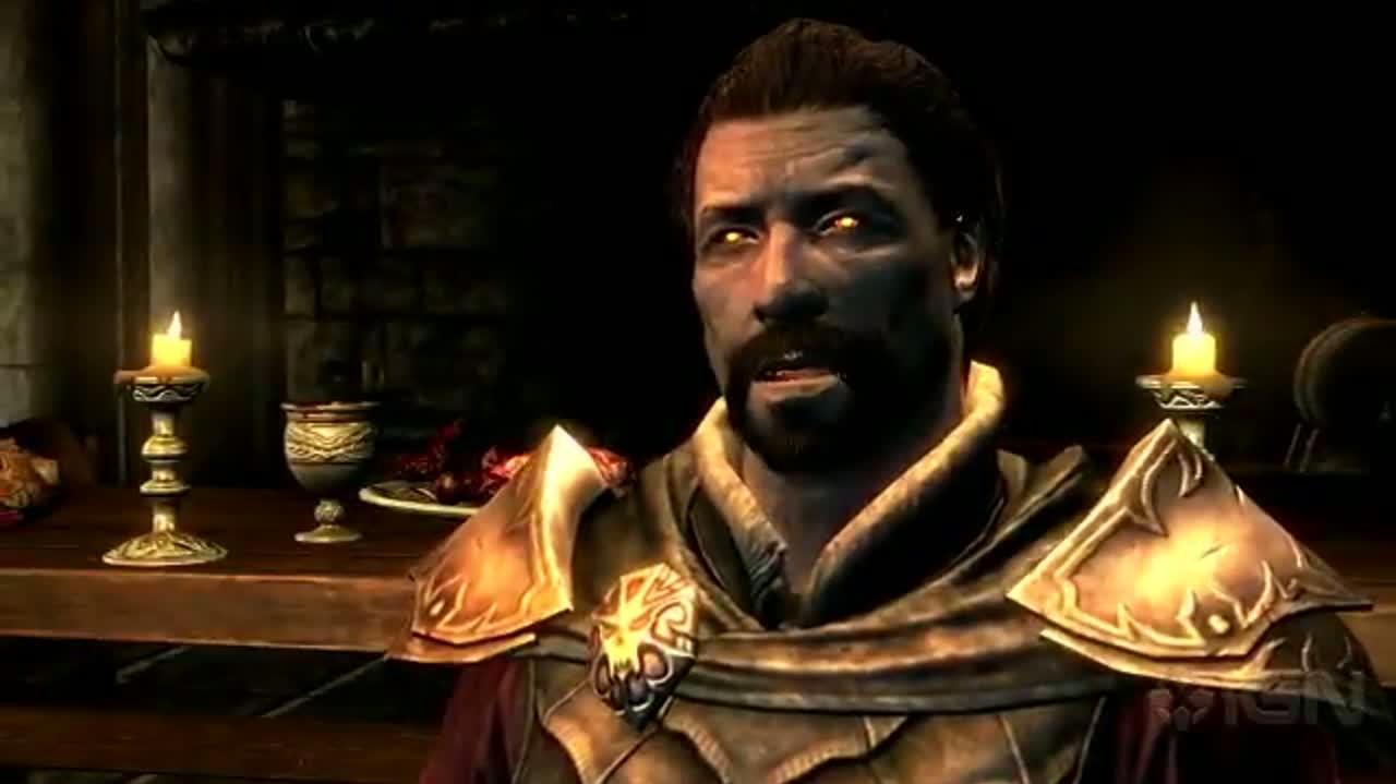 Elder Scrolls V Skyrim - Dawnguard Trailer
