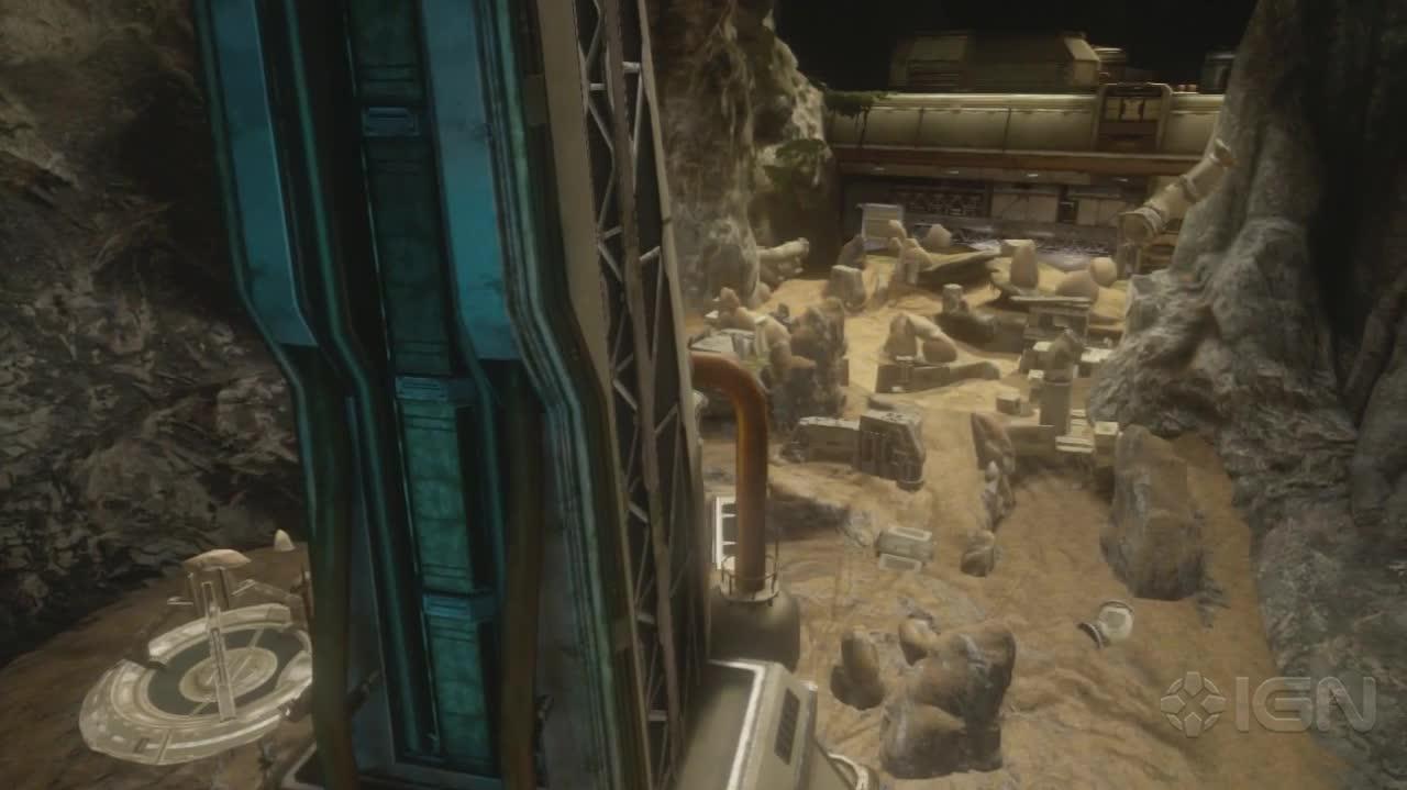Halo 4 - Erosion - Flythrough