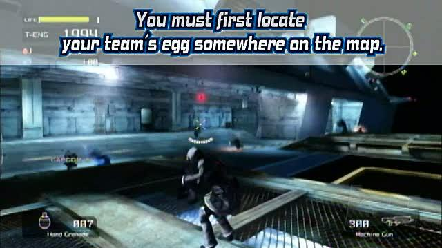 Lost Planet Extreme Condition Xbox 360 Gameplay - Akrid Egg Battle Online Mode