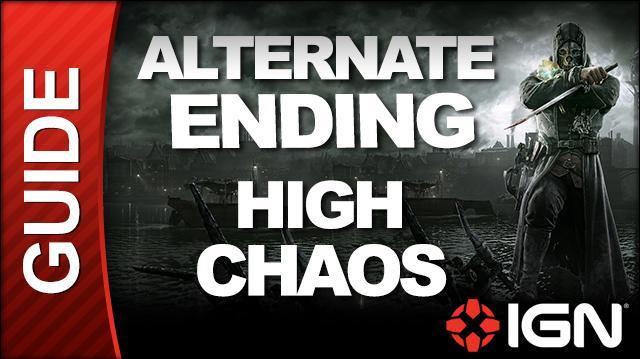 *SPOILERS* Dishonored - High Chaos Walkthrough - ALTERNATE ENDING