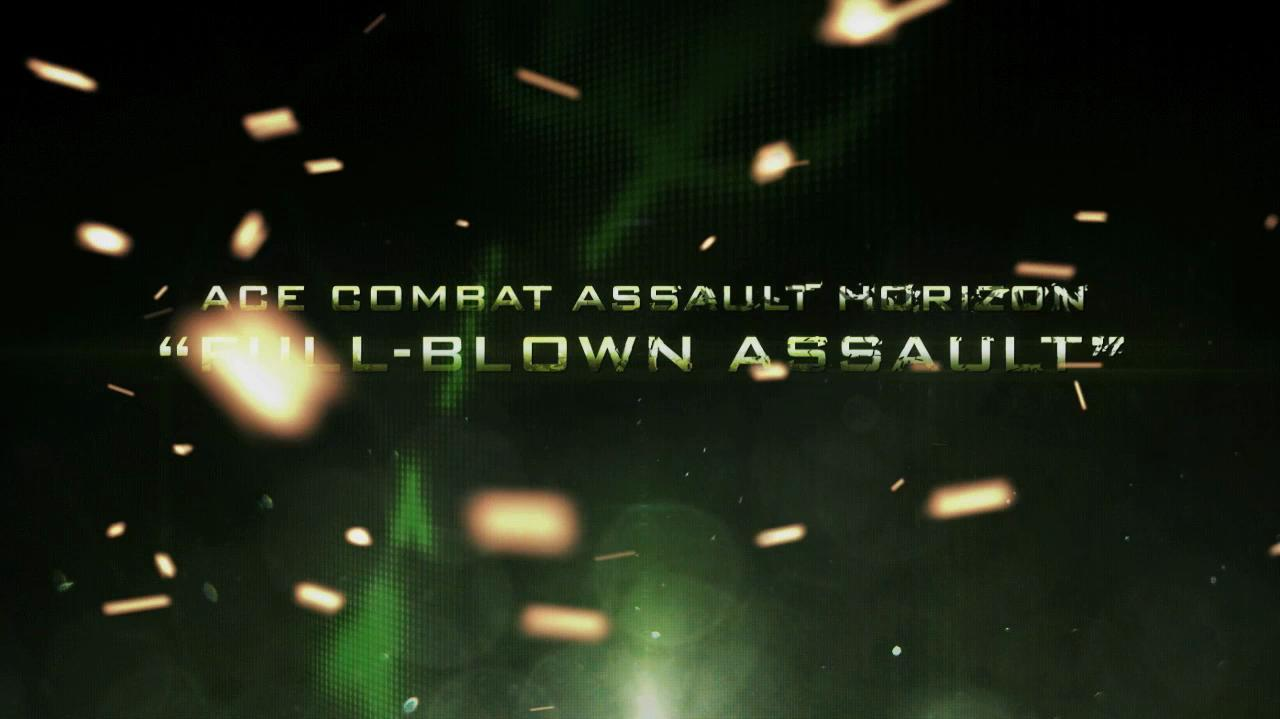 Ace Combat Assault Horizon Gamescom 2011 Trailer