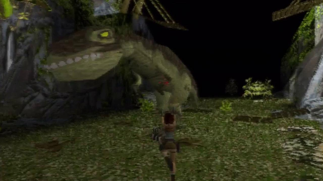 Tomb Raider T-Rex