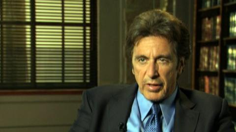 """88 Minutes (2008) - Interview Al Pacino """"On why his character is threatened"""""""
