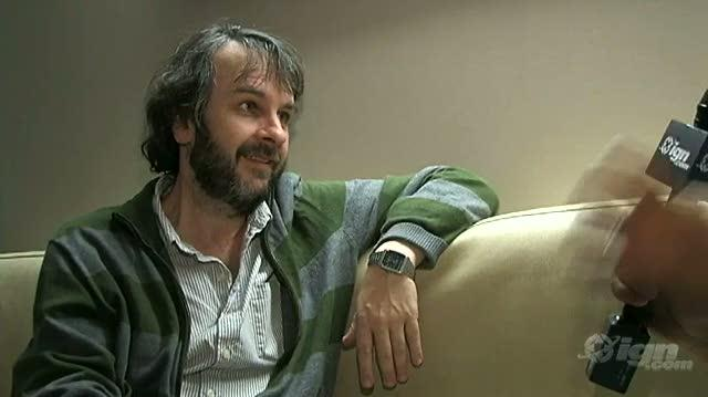 District 9 Movie Interview - SDCC 09 Peter Jackson