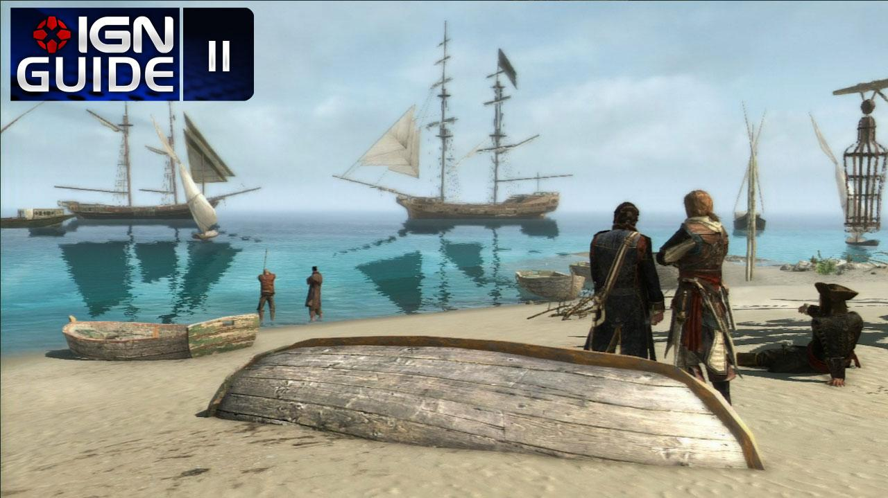 Assassin's Creed 4 Walkthrough - Sequence 03 Memory 03 Prizes and Plunder (100% Sync)