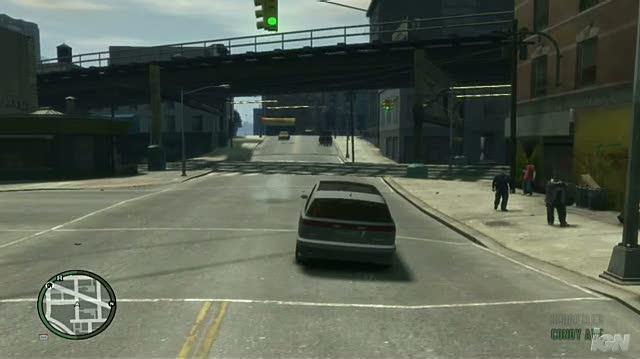 Grand Theft Auto IV PC Games Gameplay - Driving Around