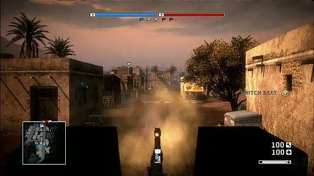 Battlefield Bad Company PlayStation 3 Gameplay - Oasis 1